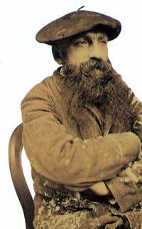 Une photo d'Auguste Rodin
